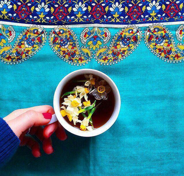 عکس پروفایل لیوان چای زیبا