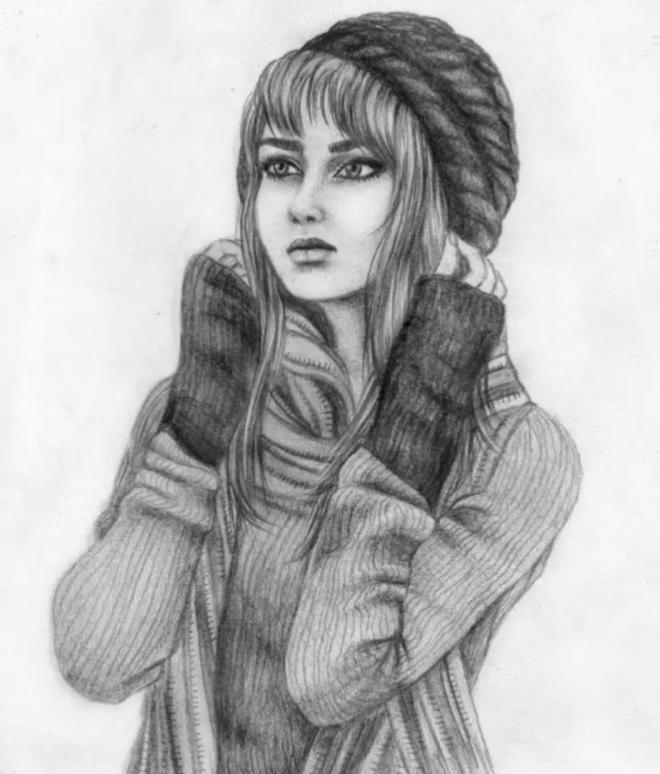 عکس پروفایل نقاشی دخترانه
