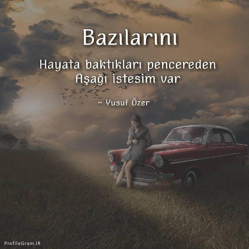 عکس نوشته صبح بخیر ترکی استانبولی