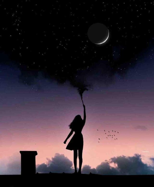 عکس پروفایل دخترک جادویی