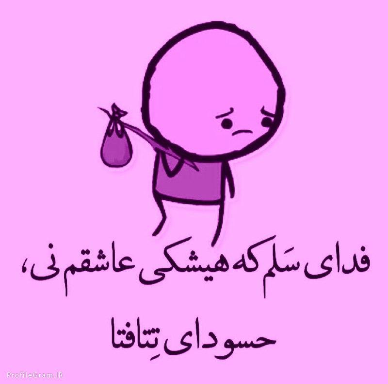 عکس پروفایل طنز فدای سلم