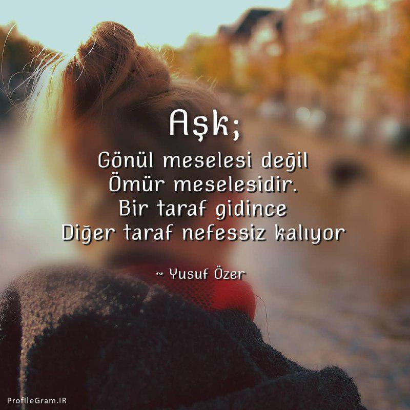 عکس پروفایل ترکیه ای عشق ؛مسئله دل نیست مسئله عمره