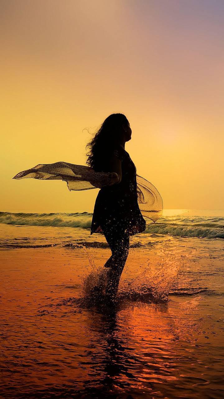 عکس پروفایل دخترونه کنار دریا