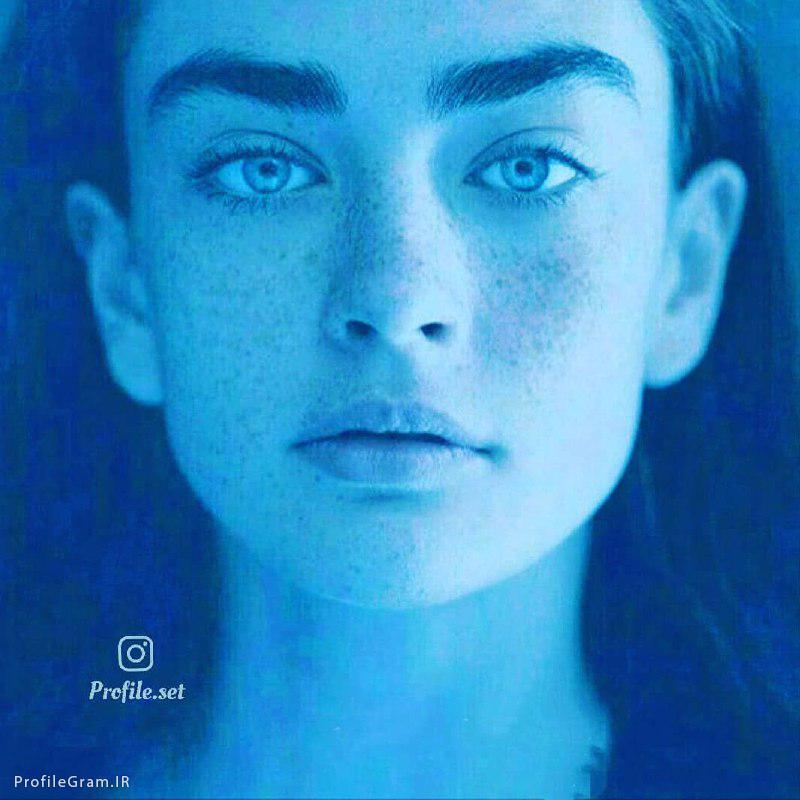 عکس پروفایل ست دختر با نگاه خیره