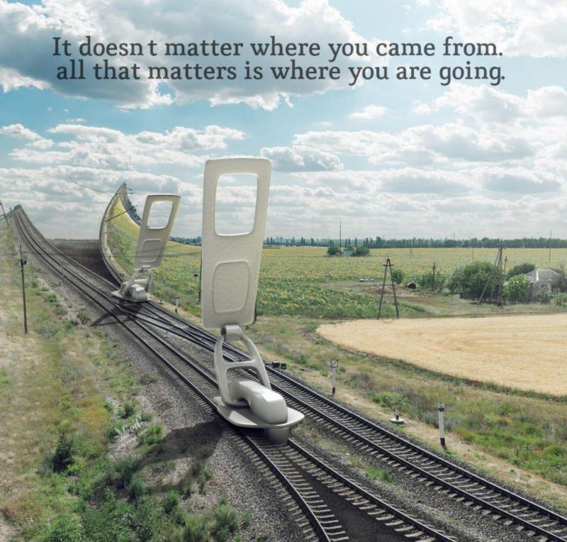 عکس پروفایل انگلیسی مهم نیست از کجا اومدی تنها چیزی که مهمه اینه که کجا داری میری