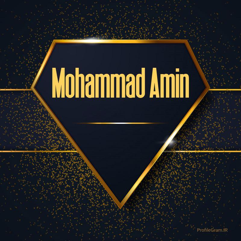 عکس پروفایل اسم انگلیسی محمدامین طلایی Mohammad Amin