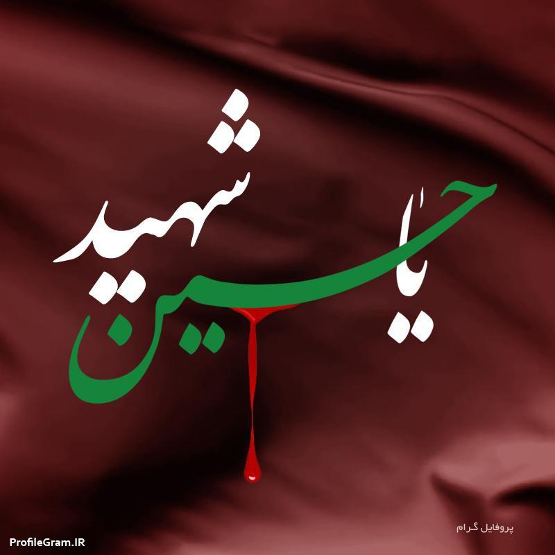 عکس پروفایل یا حسین شهید