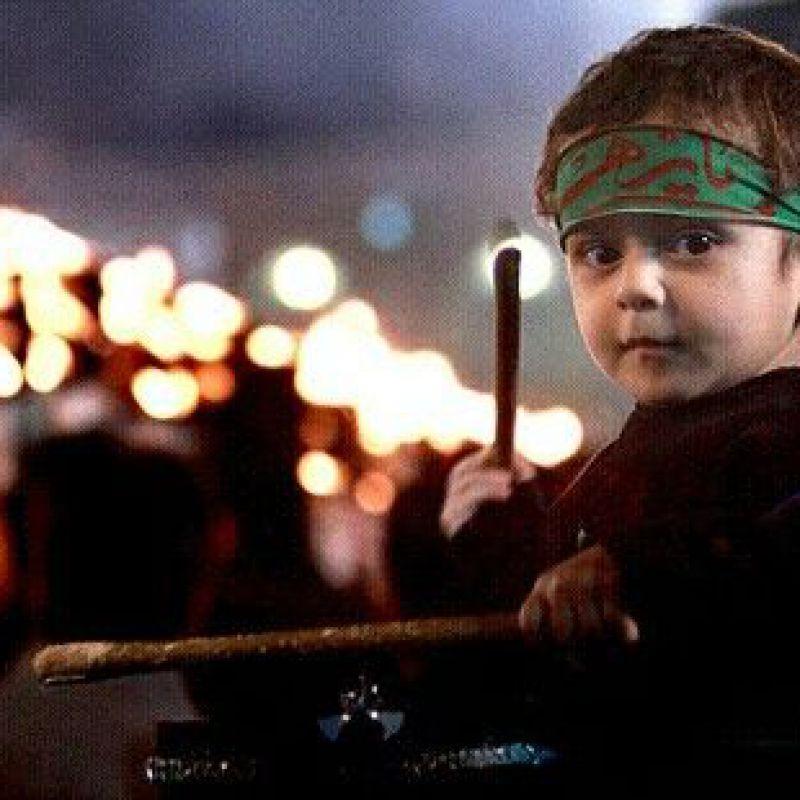عکس پروفایل کودک محرمی عزادار حسینی