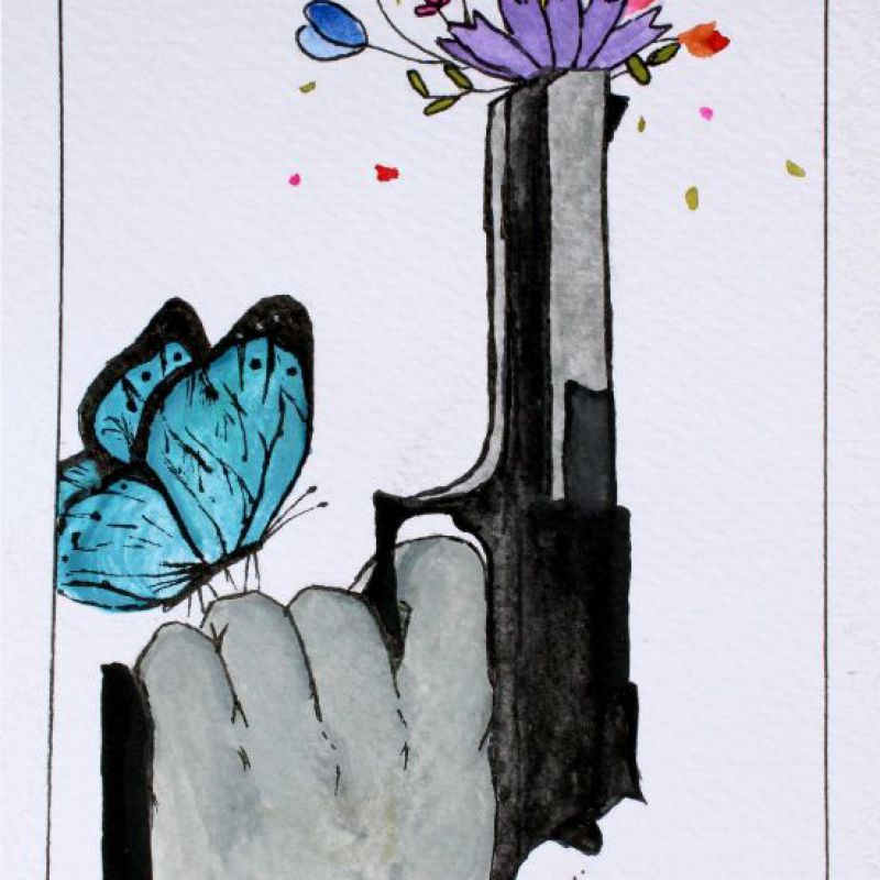 عکس پروفایل نقاشی به مناسبت روز جهانی صلح