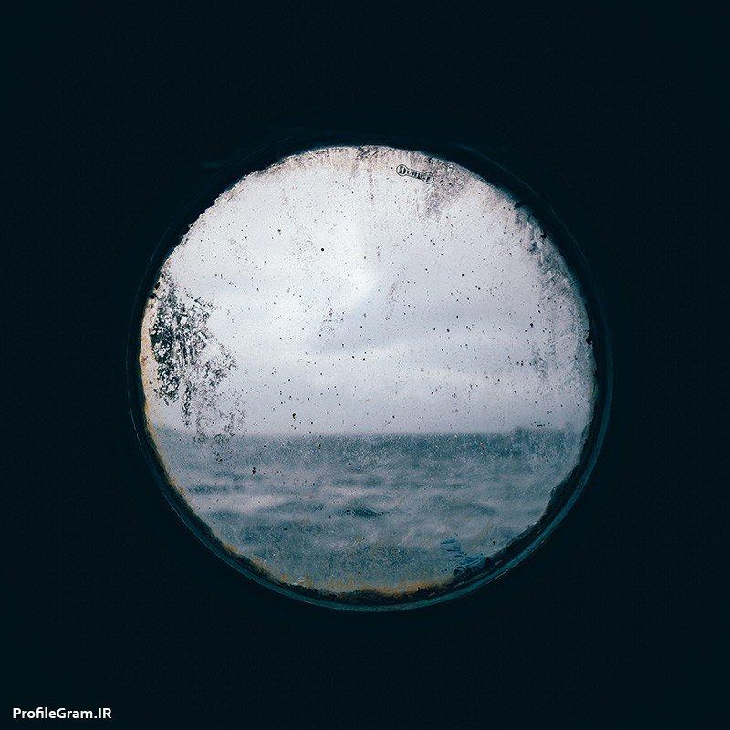 عکس پروفایل دریچه ای رو به دریا
