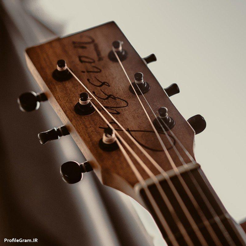 عکس پروفایل باکلاس دسته گیتار زیبا