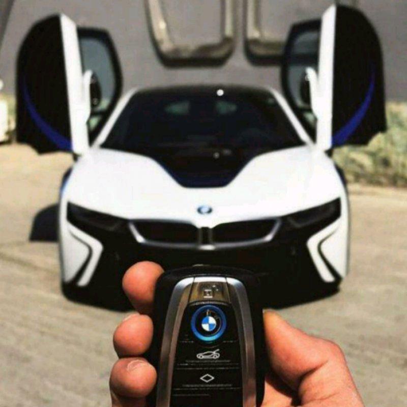 عکس پروفایل ماشین لاکچری BMW 2019 با ریموت