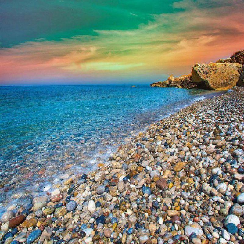 عکس پروفایل طبیعت ساحل دریا بسیار زیبا
