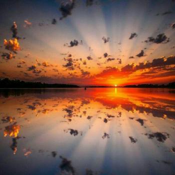 عکس پروفایل غروب خورشید زیبا