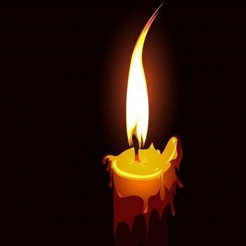 عکس پروفایل شمع تسلیت مراسم