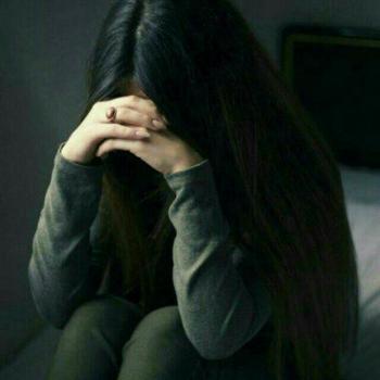 عکس پروفایل دختر افسرده