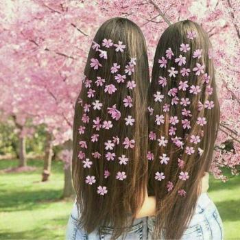 عکس پروفایل دختران بهاری زیبا