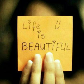 عکس پروفایل زندگی زیباست