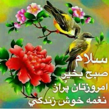 عکس پروفایل سلام صبخ بخیر دوستان