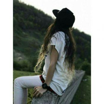 عکس پروفایل دختر مو بلند زیبا