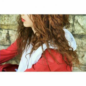عکس پروفایل دختری با موی زیبا