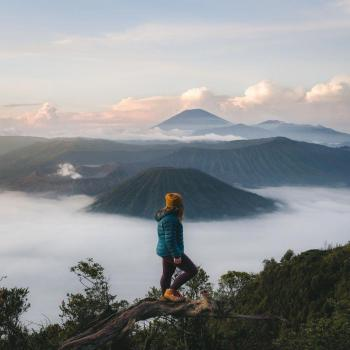 عکس پروفایل دختر کوهنورد