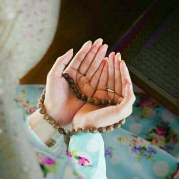 عکس پروفایل دست به دعا