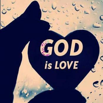 عکس پروفایل خدا عشق است