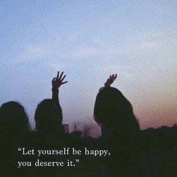 عکس پروفایل به خودت اجازه خوشحال بودنو بده تو لیاقتش رو داری