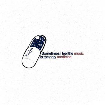 عکس پروفایل گاهی وقتا حس می کنم موزیک تنها داروی موجوده