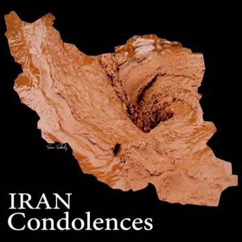 عکس پروفایل ایران من تسلیت انگلیسی