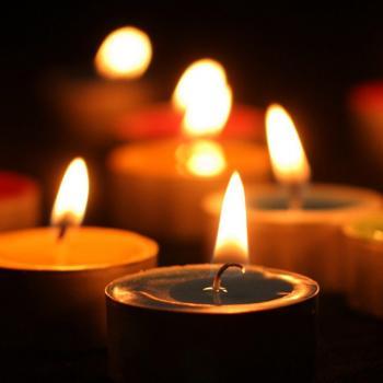 عکس پروفایل فضای عرفانی با شمع