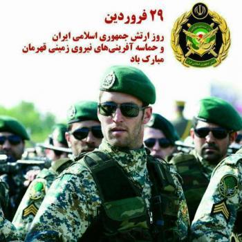عکس پروفایل تبریک روز ارتش نیروی زمینی