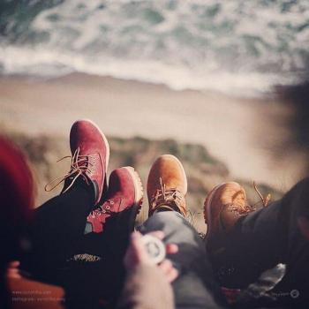 عکس پروفایل عاشقونه لب دریا