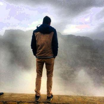 عکس پروفایل کوه مه گرفته
