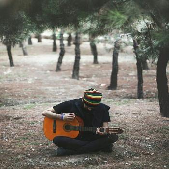 عکس پروفایل پسر هیپی جنگلی