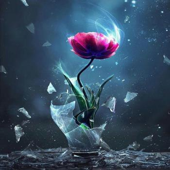 عکس پروفایل گل لاله فانتزی