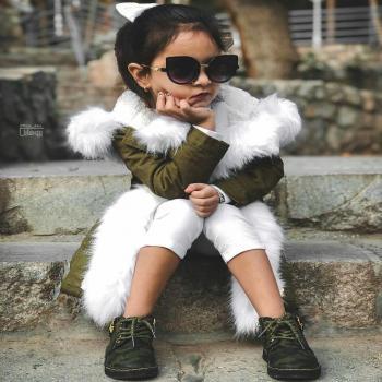عکس پروفایل دختر کوچولو خوشتیپ