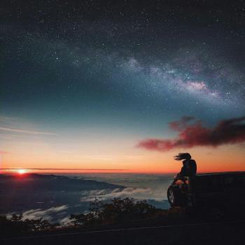 عکس پروفایل آسمان پر ستاره