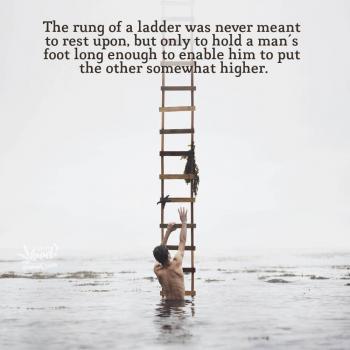 عکس پروفایل پلهی نردبان هیچوقت برای این نبوده که روش استراحت کنی
