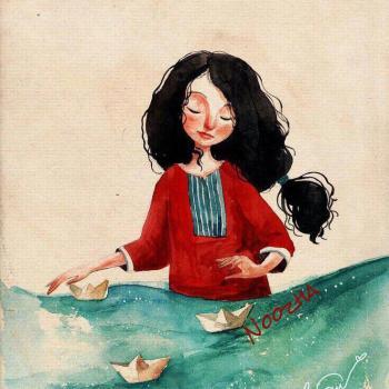عکس پروفایل نقاشی ناز دخترونه