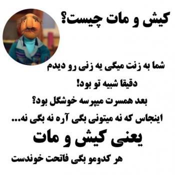 عکس پروفایل کیش و مات چیست به زبان فامیل دور