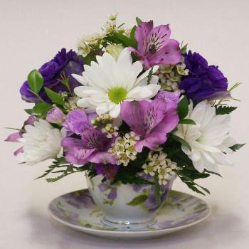 عکس پروفایل گل بنفش زیبا