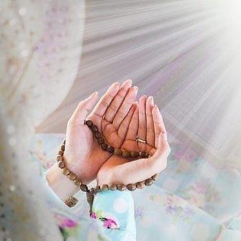 عکس پروفایل دست رو به دعا
