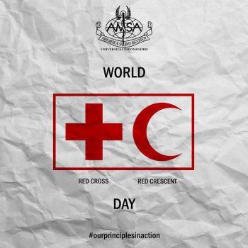 عکس پروفایل روز هلال احمر و صلیب سرخ ساده