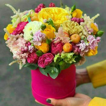 عکس پروفایل باکس گل شاد