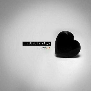 عکس پروفایل دلی که تو را یاد نکند دل نیست