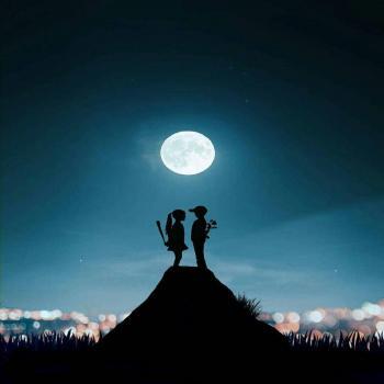 عکس پروفایل ماه درخشان