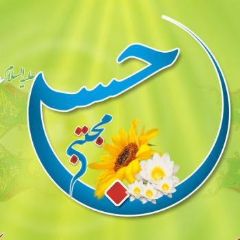 عکس پروفایل میلاد امام حسن مجتبی با طرح هلال ماه