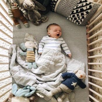 عکس پروفایل پسر بچه خوابالو